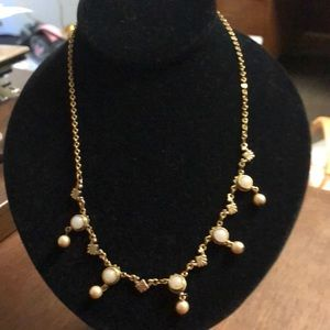 Jewelry - Gold and Pearl necklace. 16-21 inches. GVC